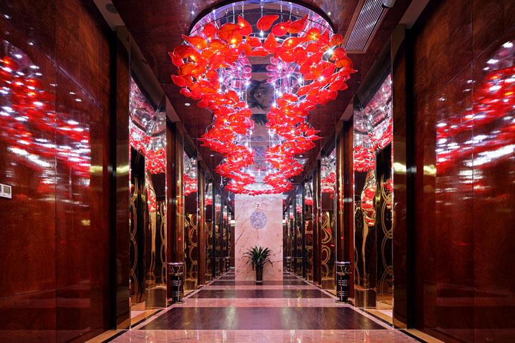 情侣酒店设计有属于自己的独特美