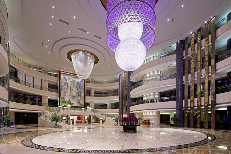 酒店各個功能區域的設計